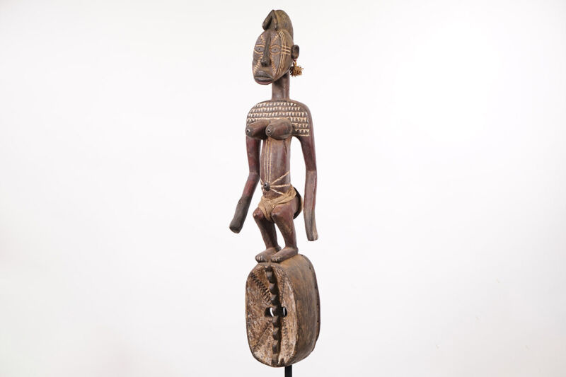 "Mossi Karan Wemba Mask 38"" - Burkina Faso - African Art"