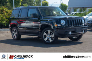 2017 Jeep Patriot - 4X4, 1 OWNER, LOCAL, NO ACCIDENTS