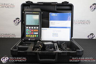 Olympus Epoch Lt Ultrasonic Handheld Flaw Detector Ndt Inspection Panametrics