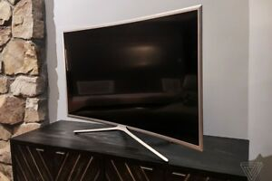 "55"" Samsung UHD curved TV"