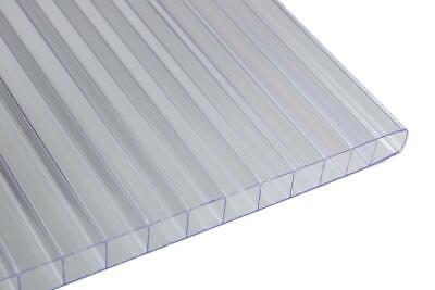 Falken Design Multiwall Polycarbonate Sheet Clear 12x12x6mm Free Cut To Size