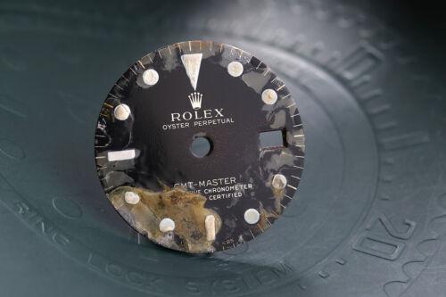Rolex Vintage GMT Master DAMAGED Guilt Dial for 1675 FCD11570