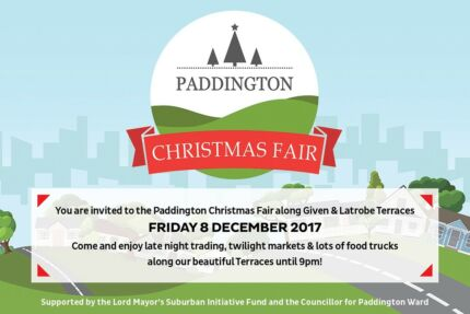 Paddington Christmas Fair - Friday 8th December - 5pm to 8pm