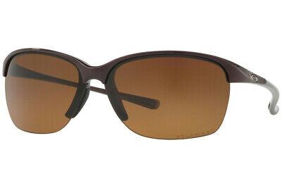 Oakley Unstoppable POLARIZED Sunglasses OO9191-03 Raspberry Spritzer W/ Brown  (Oakley Ladies Polarized Sunglasses)