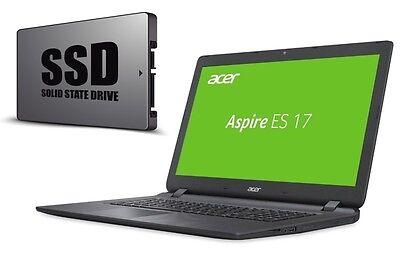 LAPTOP ACER ES1-732 - BIS 1000GB SSD - WINDOWS 10 PRO - 17.3  WXGA - BLUETOOTH