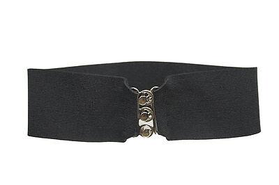 Black Cinch Belt for Poodle Skirt/ Sock Hop _ 3