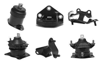 New Engine Motor & Trans Mounts For Honda Accord 3.0L Automatic Trans Set 6PCS