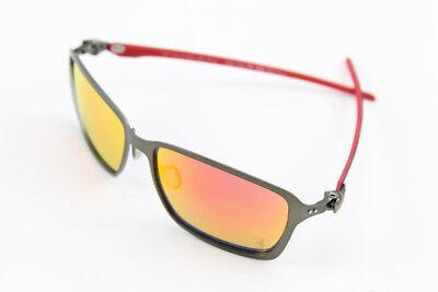 Oakley Scuderia Ferrari Tincan Carbon Sunglasses, Ruby Iridium Lenses  OO6017-07