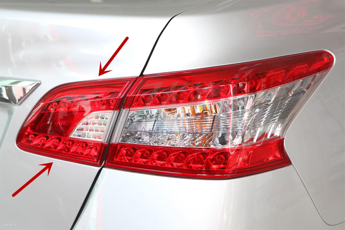 For Nissan Sentra 2013 14 2015 Right Inner Side Red Lens ...
