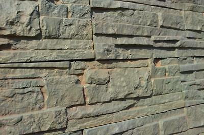 Concrete Tile Molds (5 pcs ABS Plastic Molds for Concrete Plaster wall stone tiles CONCRETE MOULD#W01 )