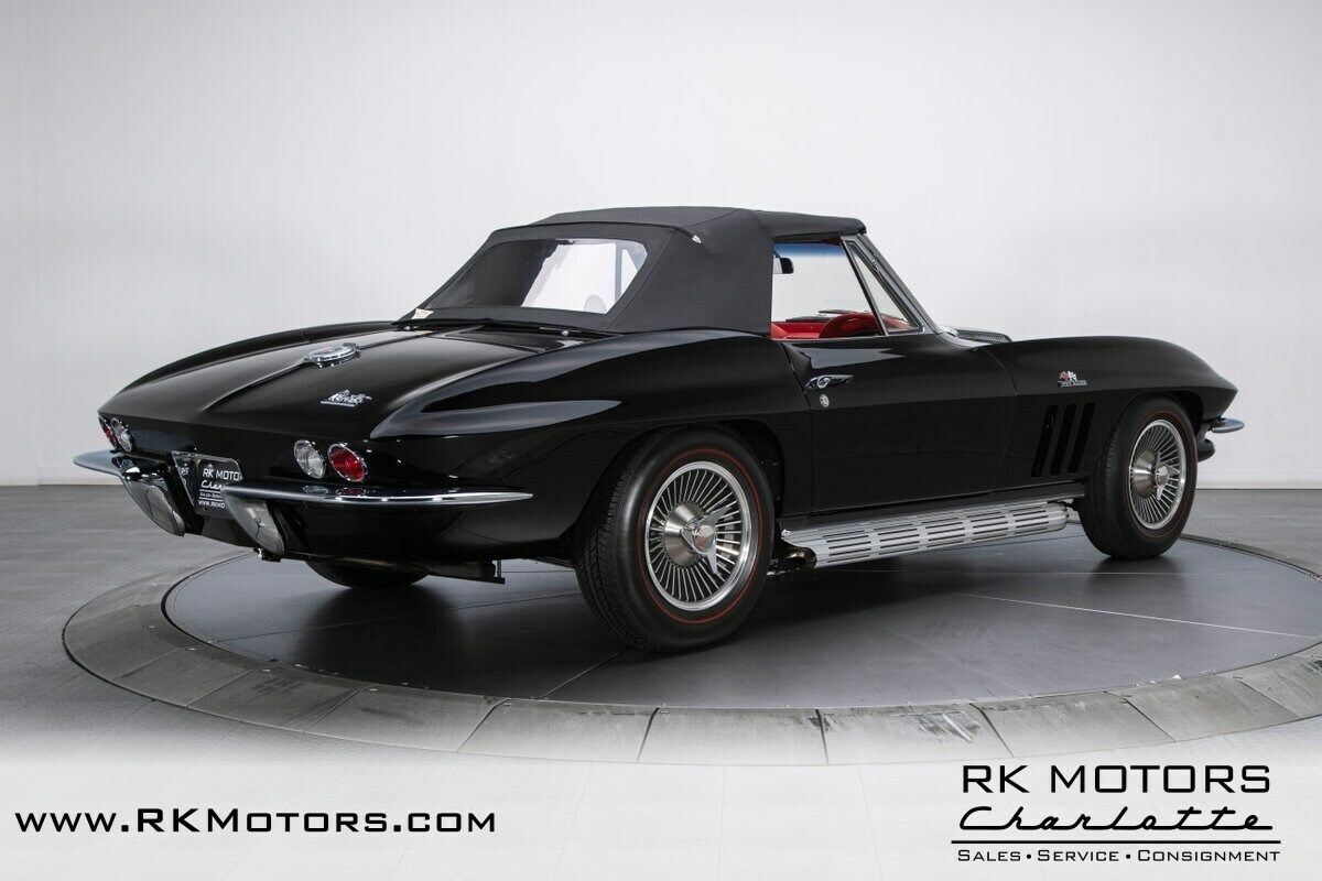 1966 Black Chevrolet Corvette   | C2 Corvette Photo 8