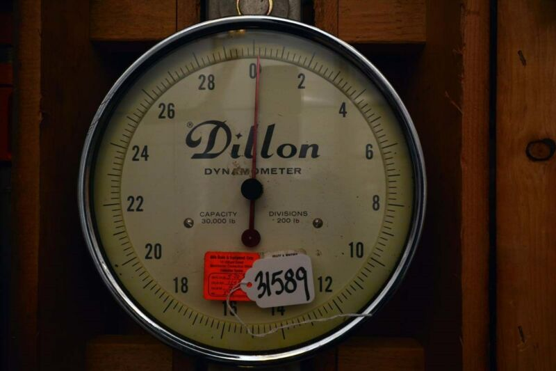 Dillon 30,000 pounds Dynamometer (Inv.31589)