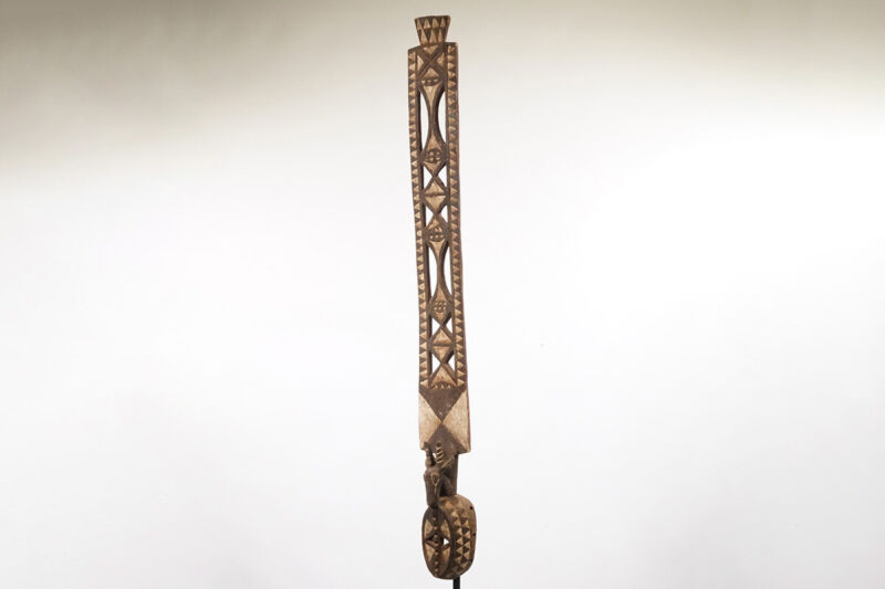 """Large Mossi African Mask with Antelope 62.25"""" - Burkina Faso*"""