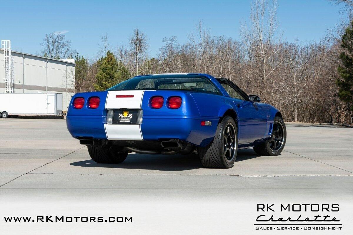1996 Blue Chevrolet Corvette Grand Sport    C4 Corvette Photo 4