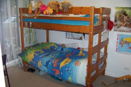 Bunkers Bunk Bed - could be separated into two separate beds Richmond Yarra Area Preview