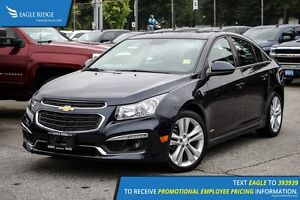 2015 Chevrolet Cruze 2LT Navigation, Sunroof, and Heated Seats