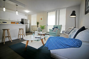 Spacious Renovated 2 Bed in Hamilton