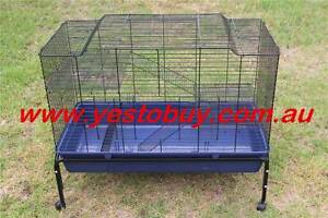 Double Platform Rabbit Bunny Hutch Ferret Cage Guinea Pig House Mordialloc Kingston Area Preview