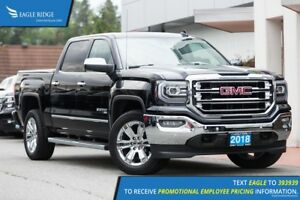 2018 GMC Sierra 1500 SLT Heated/Vented Seats, Tonneau Cover,...