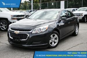 2015 Chevrolet Malibu 1LT AM/FM Radio and Air Conditioning