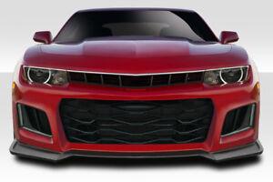 10-13 Chevrolet Camaro ZL1 Version 2 Duraflex Front Body Kit Bumper!!! 114109