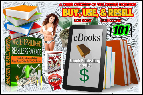 101 eBooks For Resale CD VoL  (1) eBooks with Master Resale Rights WoW