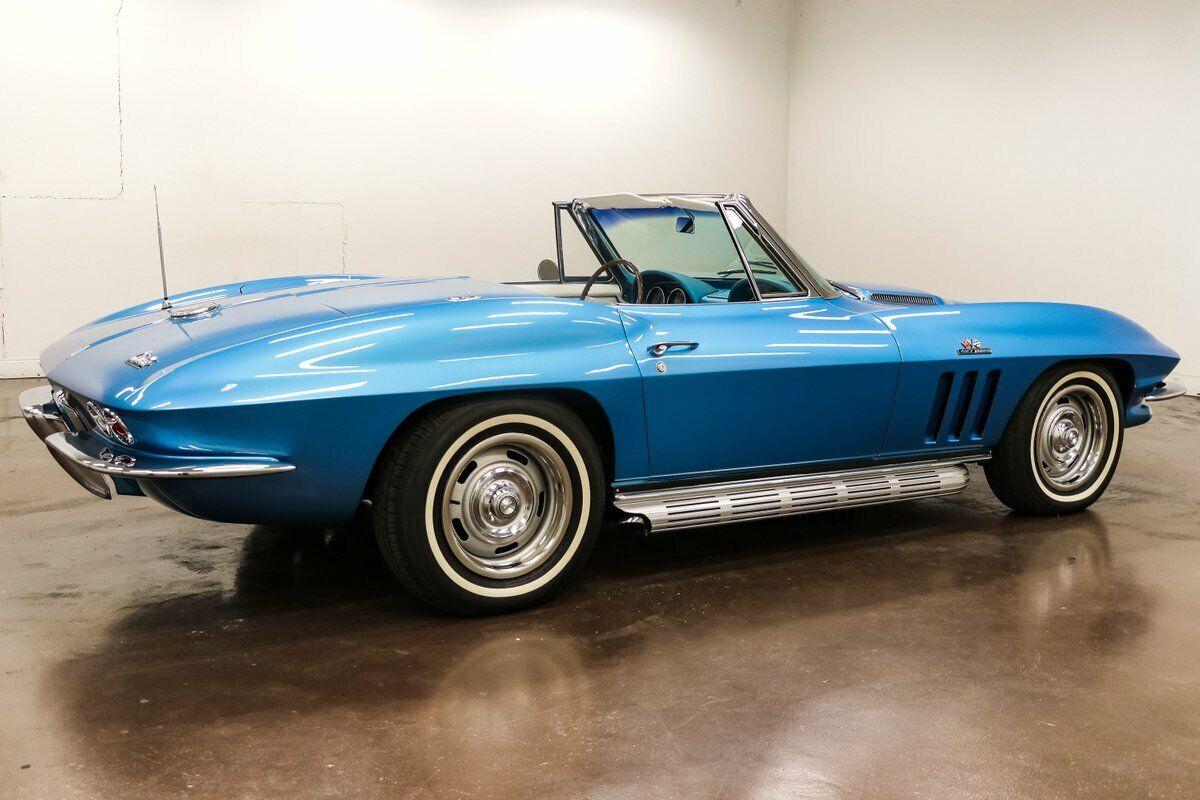 1966 Blue Chevrolet Corvette   | C2 Corvette Photo 7