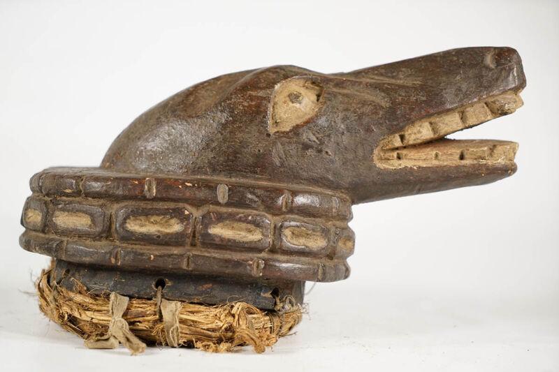 "Yoruba Dog Gelede Mask 9"" - Nigeria"