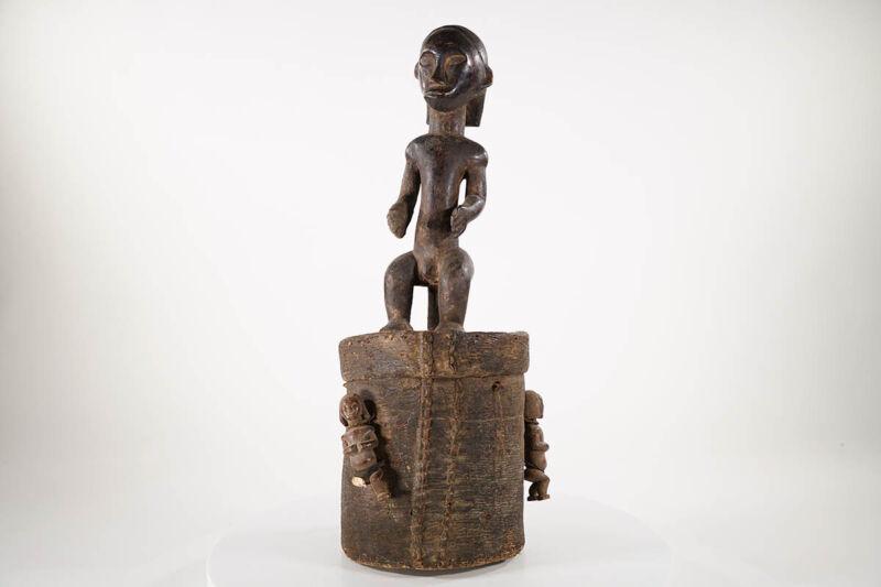 """Fang Bieri Reliquary Figure 27""""- Gabon - African Art"""