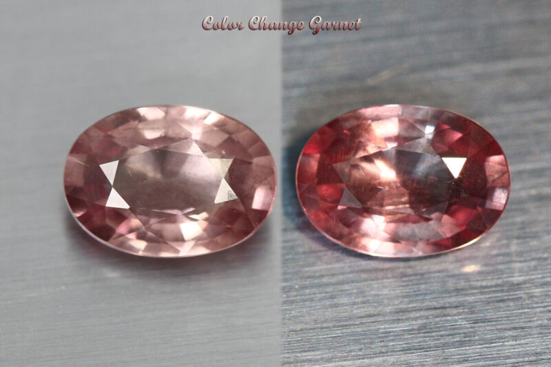 2.055 CT RARE NATURAL FROM EARTH MINED *COLOR CHANGE MALAYA GARNET* AAA+ GEM~!!!