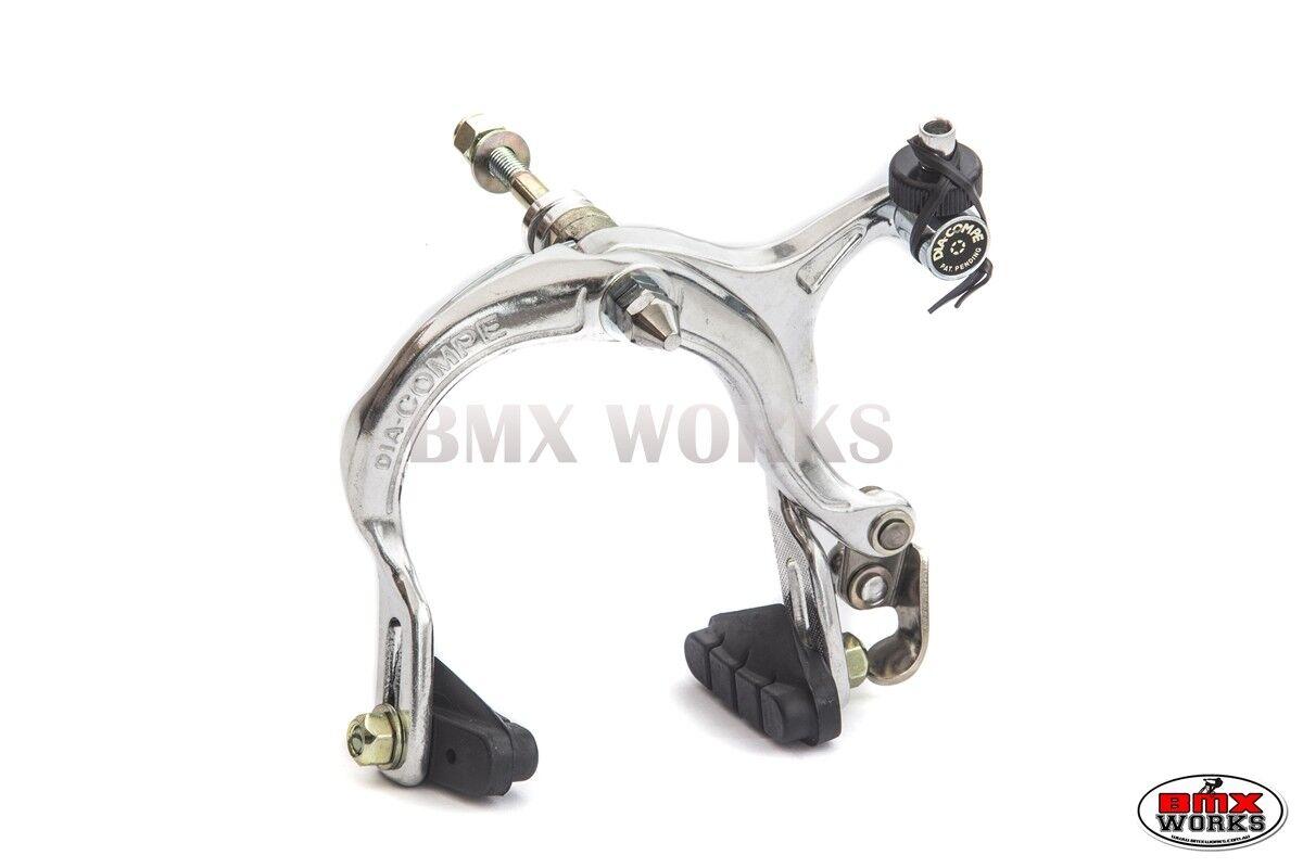 Genuine Dia-Compe BMX MX883 Caliper /& Tech-77 Lever Black Brake Set