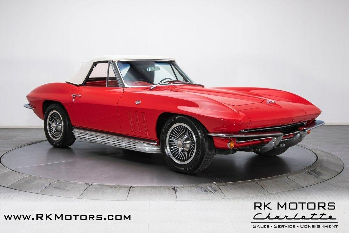 1965 Red Chevrolet Corvette   | C2 Corvette Photo 10