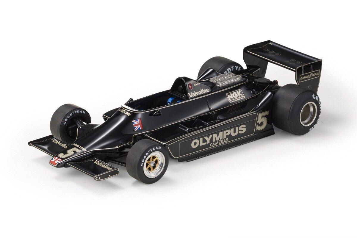 GP Replicas 1:18 GP54A 1978 F1 Lotus 79 World Champion (M. Andretti) #5 - NEU!