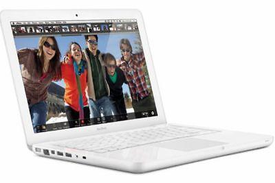 "APPLE MACBOOK WHITE (7.1) CORE 2 DUO 2.40GHZ 13"" HDD 250GB RAM 2GB (2010) A1342"