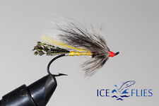 3-pack Fly Fishing Fly Rusty Rat Single Hook. Salmon Fly Pick a size