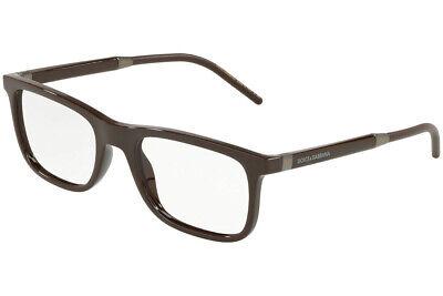 New Dolce & Gabbana DG 5030 3042 Brown RX Prescription Eyeglasses 55 mm (Dolce Gabbana Prescription Glasses)