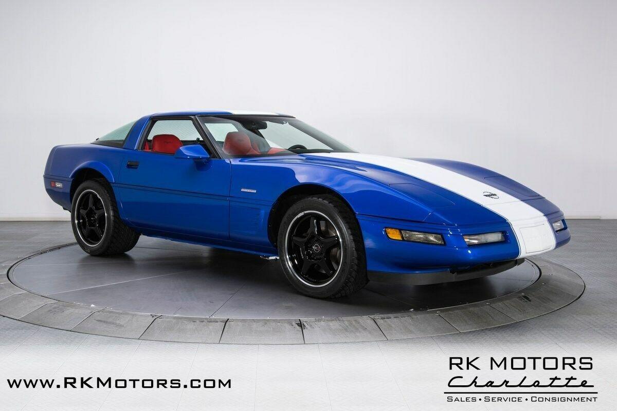1996 Blue Chevrolet Corvette Grand Sport  | C4 Corvette Photo 10