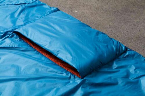 """Klymit Versa Tech 58x80"""" Pack-able Blanket with Toe Box, Lightweight, Bug out"""