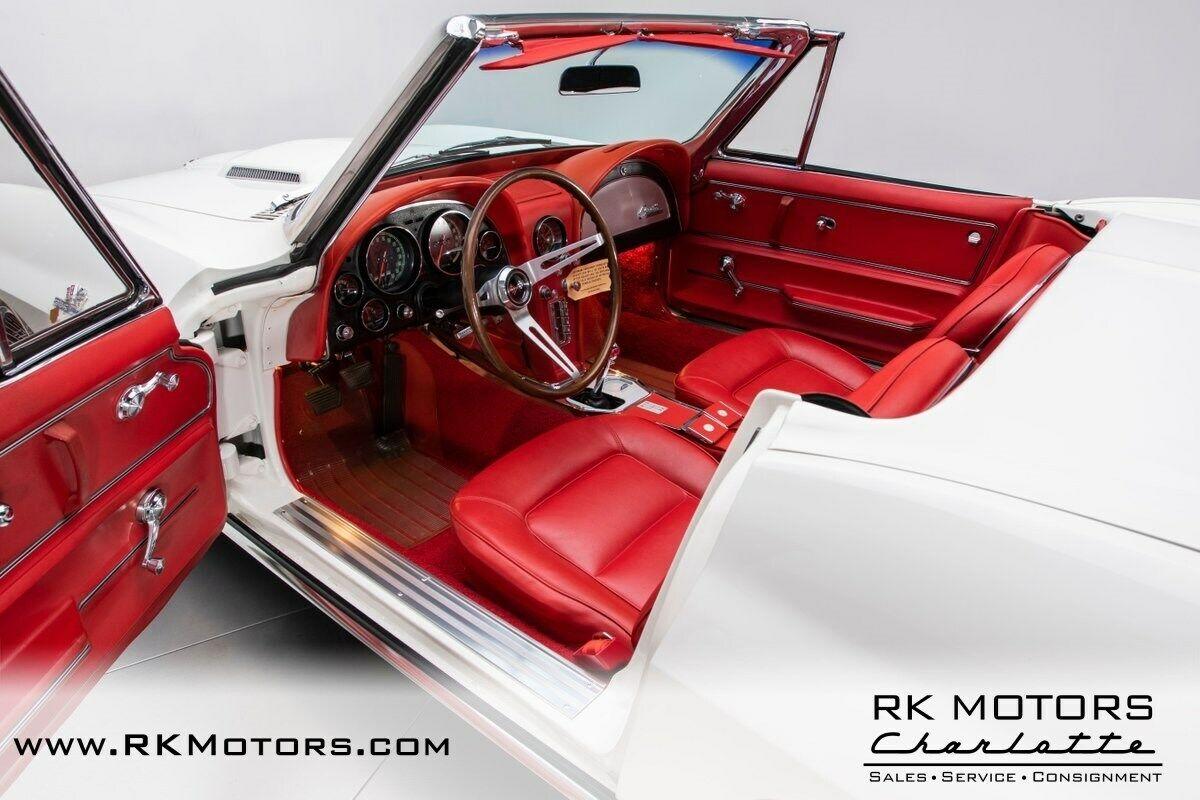 1965 White Chevrolet Corvette   | C2 Corvette Photo 3