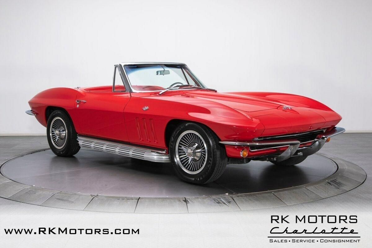 1965 Red Chevrolet Corvette   | C2 Corvette Photo 9