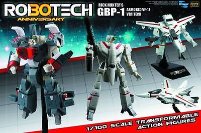 Robotech 30th Anniversary Rick Hunter VF-1J Transformable 1:100 Scale #sjan17-04