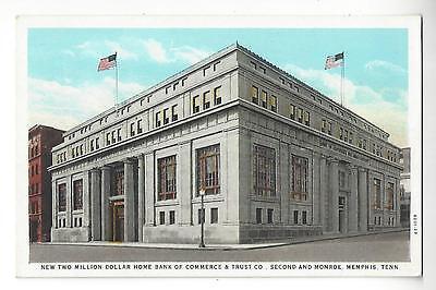 Memphis  Tennessee  Commerce   Trust Co   Second   Monroe