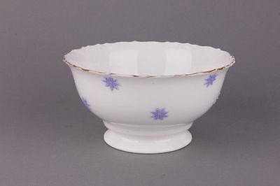 Kleine Porzellan-Schüssel mit aufgelegten Blüten, 19.Jahrhundert