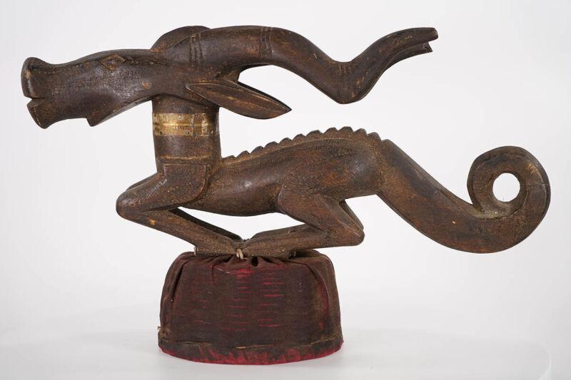 """Bamana Chiwara Headcrest 22"""" Long- Mali - African Art"""