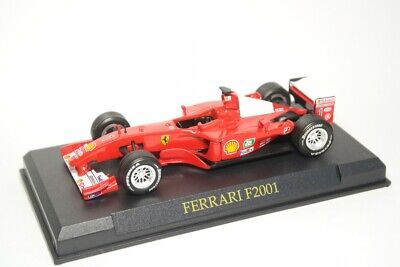 Nice 1/43 Ferrari F2001 Michael Schumacher  Rizzoli Fabbri Milano Formula 1