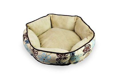 Cozy Modern Pet Bed Cat Kitten Small Breed Dog Puppy Soft Warm Nest Pad Cuddle