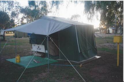 Lastest Offroad Camping Trailers Are Some Of The Toughest Wheeled  Between The Tvans Unconventional Shape And Its Foldout Tent Hardware, We Werent Sure If It Was A