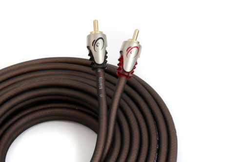 KnuKonceptz Klarity 2 Channel OFC RCA Cable 5 Meter coaxial Interconnect 16.5
