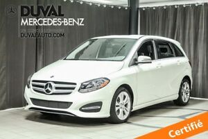 2017 Mercedes-Benz B-Class B250 4MATIC TOIT PANORAMIQUE BLEUTOOT