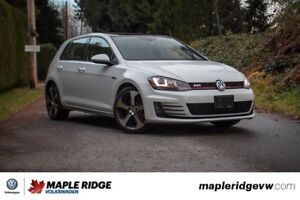 2015 Volkswagen GTI - MANUAL, NAVIGATION, SUNROOF, LEATHER